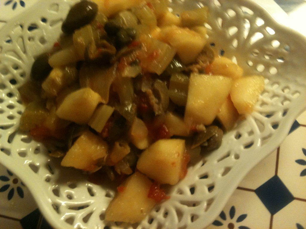 caponata di mele