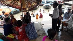 Varanasi - Bathing